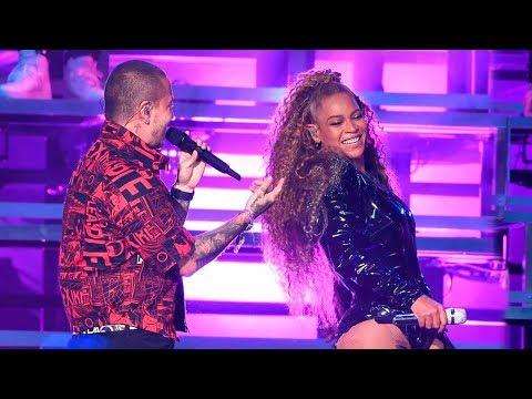 J Balvin canta con Beyoncé por Primera Vez 'Mi Gente' En Vivo y en Coachella!