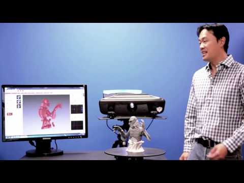 How Structured-Light 3D Scanners Work