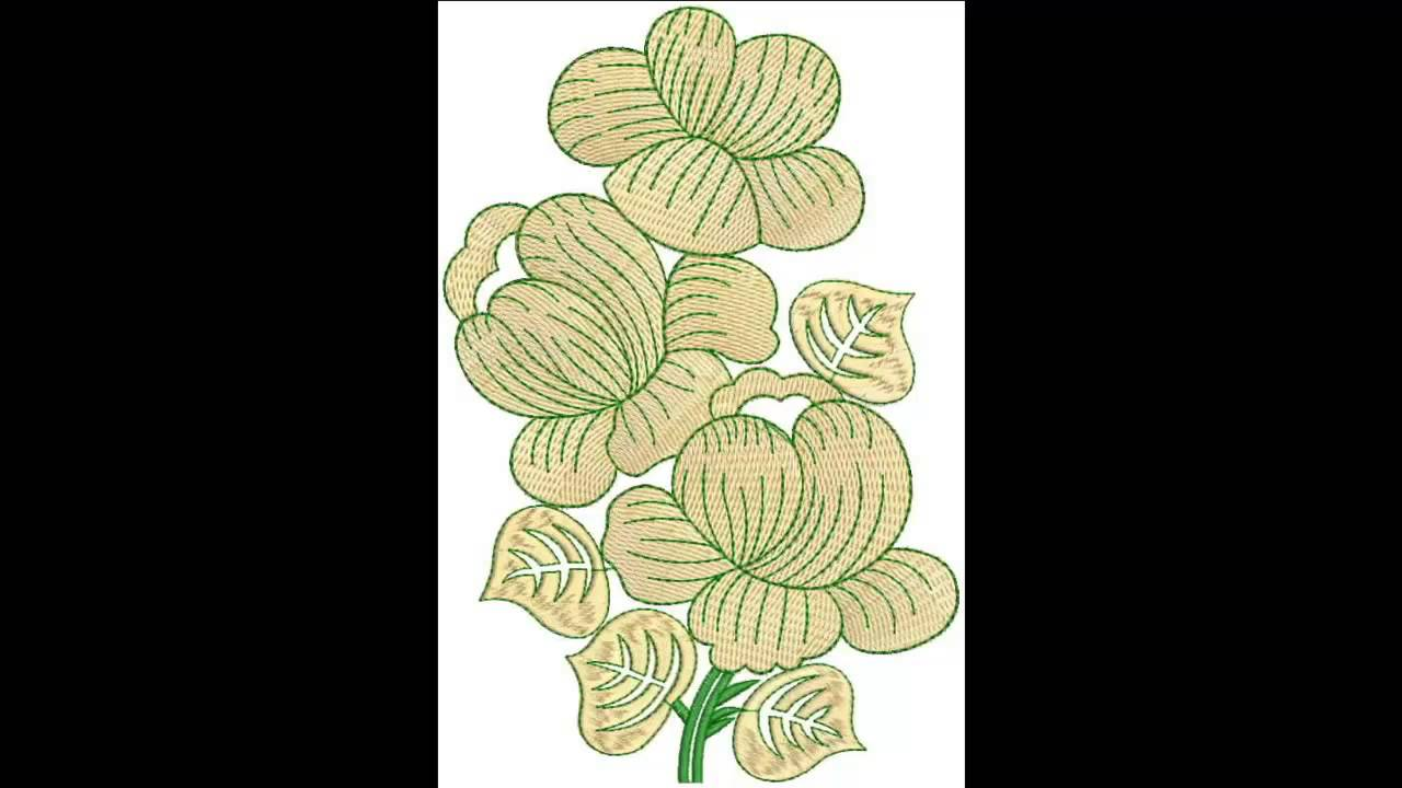 June 2015 Wall Art Embroidery Designs Bulk Download - YouTube