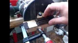 Как просверлить отверстия в подставке гитары фрезером