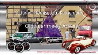 Oldtimer meets Advent - Oldtimer Remise Gut Keinemann