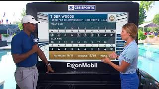 Tiger Woods breaks down his third round 66 at PGA Championship