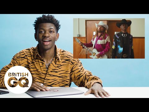 Lil Nas X on hanging with Chris Rock and learning to ride a horse for the 'Old Town Road' music video