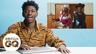 Baixar Lil Nas X on how Old Town Road was made | British GQ