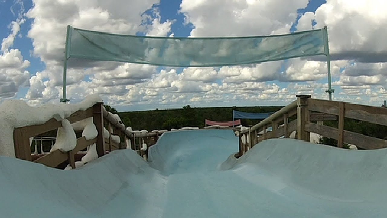 Blizzard Beach Teamboat Springs Family Raft Full Ride Pov 1080p Walt Disney World Water Park You