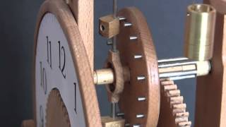 Brian Law's Woodenclocks - Clock 16 - Verge And Foliot