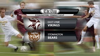 East Lyme at Stonington boys' soccer
