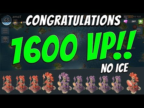 Boom Beach - 1600VP with No Ice! The Push Continues
