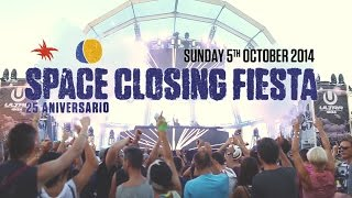 Space Ibiza Closing Fiesta 2014 (Official Aftermovie) - 25th Anniversary