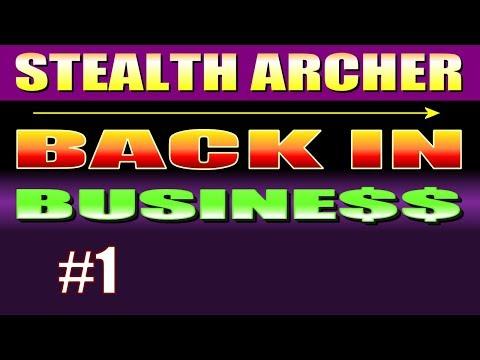 Skyrim Walkthrough BACK IN BUSINESS - Part 1: The Merchant Perk