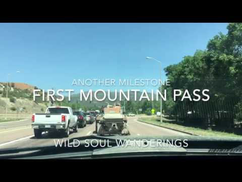 Towing my First Mountain Pass