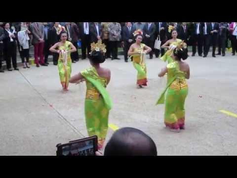 Balinese Dance for Saraswati Statue Inaguration in Washington, DC