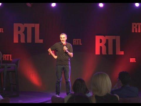 Elie Semoun dans le Grand Studio RTL Humour - Jean-Louis le nouvel élu - RTL - RTL