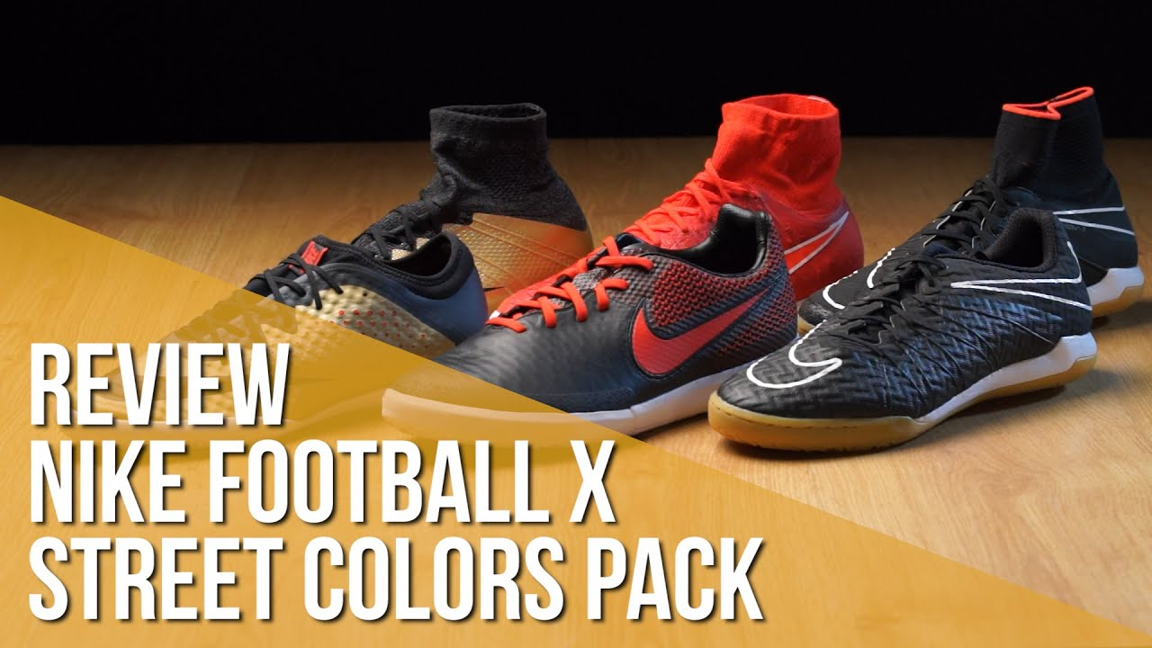 Review Nike Football X Street Colors Pack Youtube