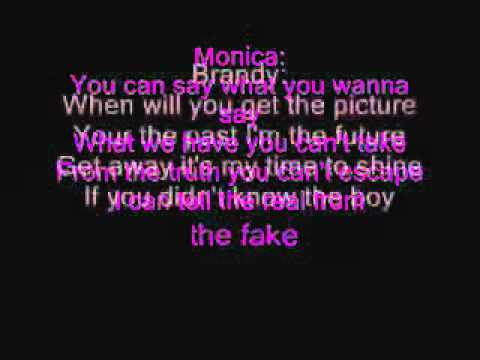 Brandy And Monica The Boy Is Mine Lyrics   YouTube