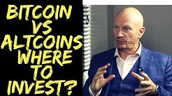 Bitcoin versus Altcoins.  Investing in Altcoins?  Where to Invest?