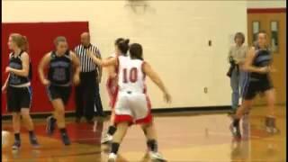 Megan Flynn leads Hoosick Falls to victory