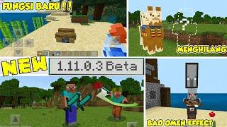 NEW MCPE V 1.11.0.3 BETA UPDATE!! DUAL WIELDING?? ADA MO