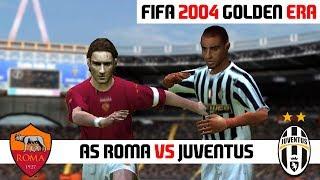 FIFA 2004 / AS Roma vs Juventus / PC Gameplay HD