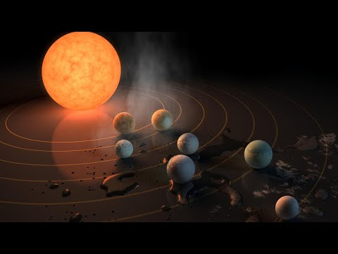 NASA discovers seven Earth-like planets; The most 'habitable' planet besides Earth - Compilation