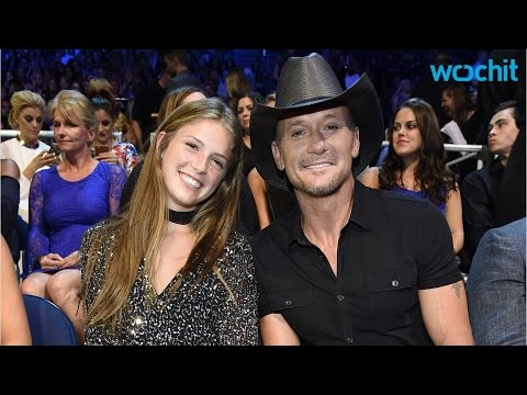Tim McGraw's Daughter Was His Date for The CMT Awards