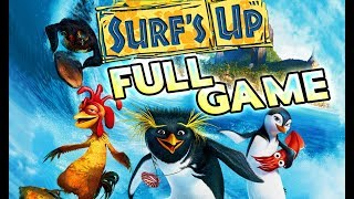 Surf's Up FULL GAME Movie Longplay (PS3, X360, Wii, PS2, GCN, PC)