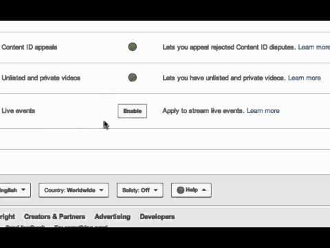YouTube Live Streaming Tutorial - Enable Your YouTube Account For Live Streaming In 1 Minute