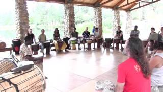 Wadaba Kourouma teaches at Camp Fareta 2013