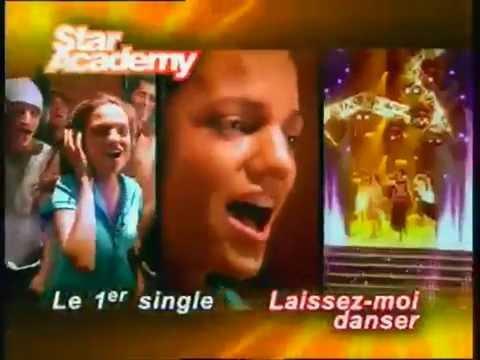 star academy l'évolution des Publicités (2001 2006)