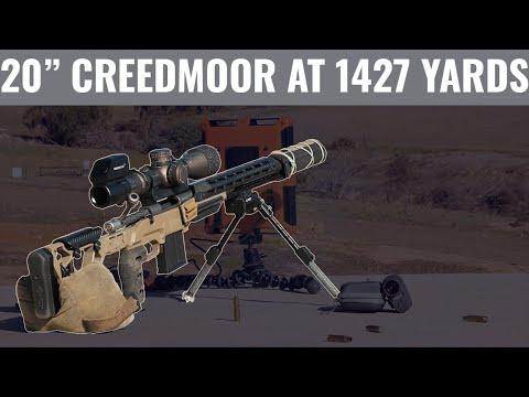 "Download 6.5 Creedmoor at 1427 Yards (Suppressed 20"" Barrel)"