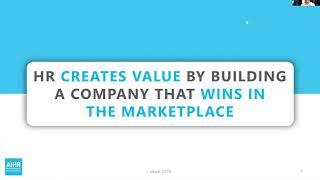 Creating Value Through HR Data \u0026 People Analytics | AIHR [WEBINAR]