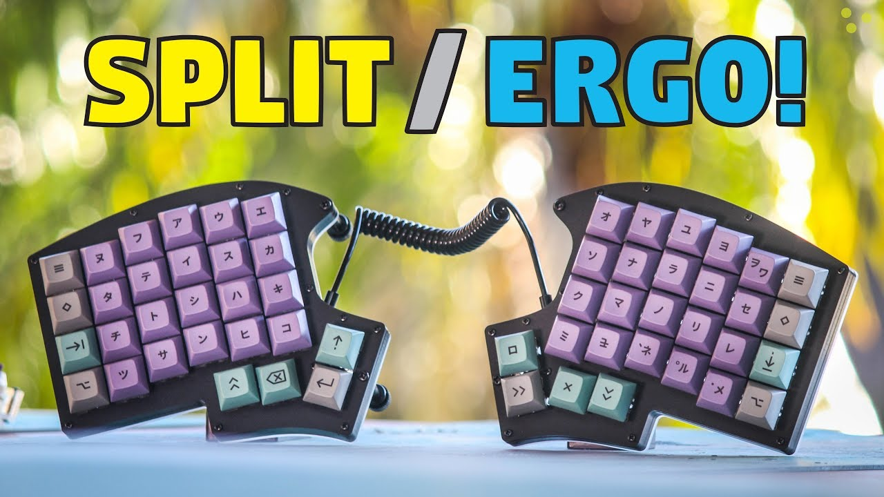 Iris Split Ergonomic Mechanical Keyboard Build