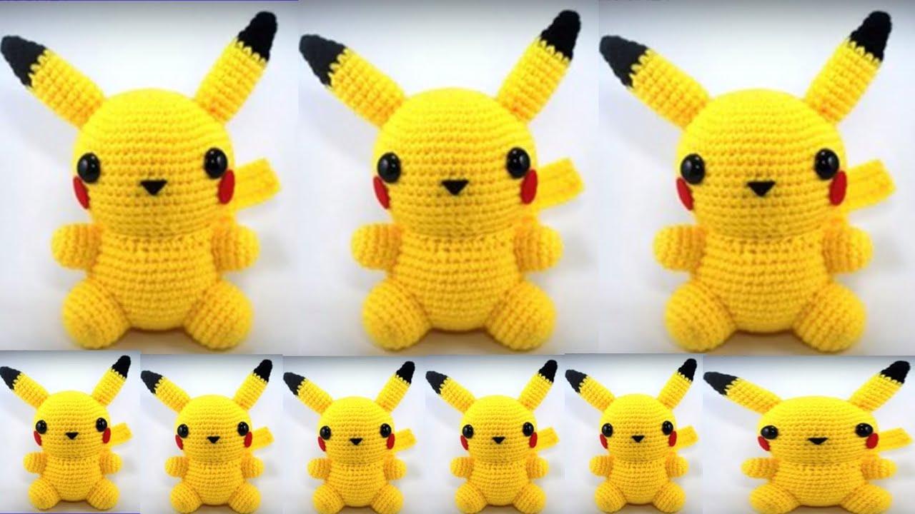 Peluche Pikachu amigurumi   CrochetyAmigurumis.com   720x1280
