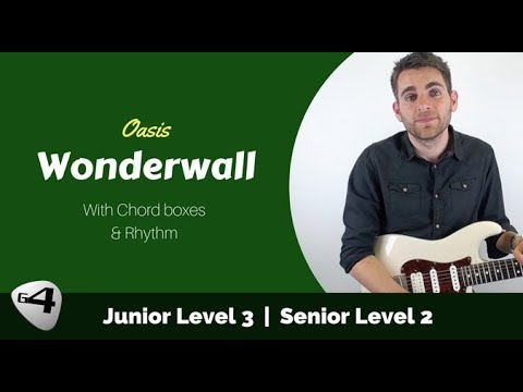 How to Play Wonderwall by Oasis Guitar Lesson with Chords and ...