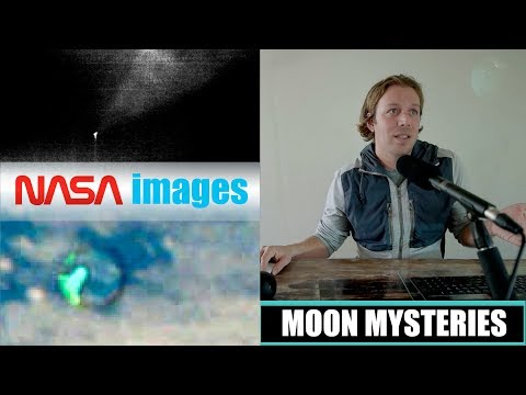 Real UFOs from moon and space | What is NASA hiding? Strange ALIEN crafts on lunar surface! (2018)