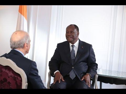 Interview de S.E.M. Alassane Ouattara invité de Jean Pierre Elkabbach sur CNEWS