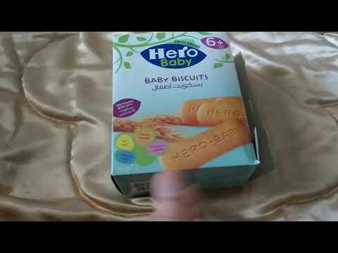 بسكويت الرضع من عمر ٦ شهور اكل للرضع Youtube