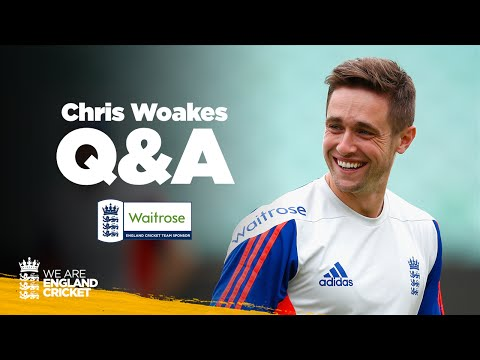 Chris Woakes Answers Questions from Twitter - Waitrose Q&A