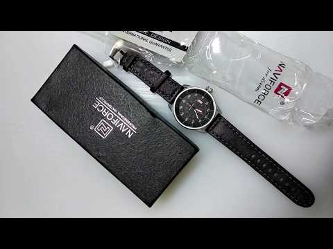 Uboxing Military Watch NaviForce NF9044
