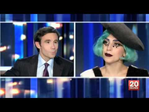 Lady Gaga JT 20h France 2 13/06/2011