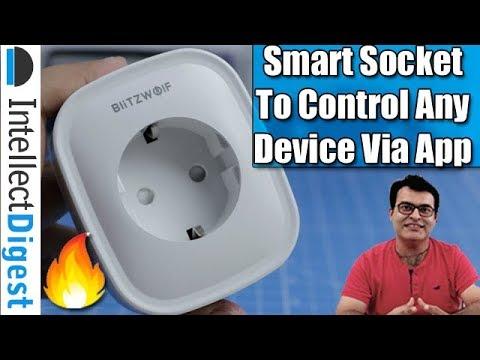 Internet Of Things- Affordable Smart Wifi Socket BlitzWolf BW-SHP2- Alexa &  Google Support