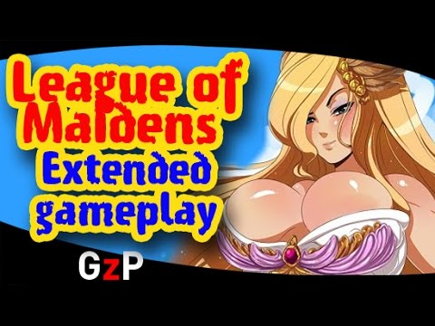 League of Maidens extended gameplay Free to play online - PC Mac 3D
