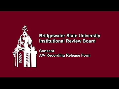 Institutional Review Board | Consent Documents