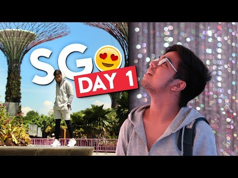 Exploring Singapore (Gardens by the Bay + ArtScience Museum) | #RedVlogs