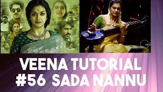 #56 Sada Nannu - Mahanati   Thandai   Veena tutorial   Swaram for movie songs   Ranjani mahesh  