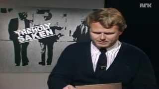 Dagsrevyen   20. Juni 1985 (treholt Dommen)