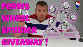 Hand Fidget Spinner Ferris Wheel Banggood Test Review Francais par ThinkUnBoxing 4K