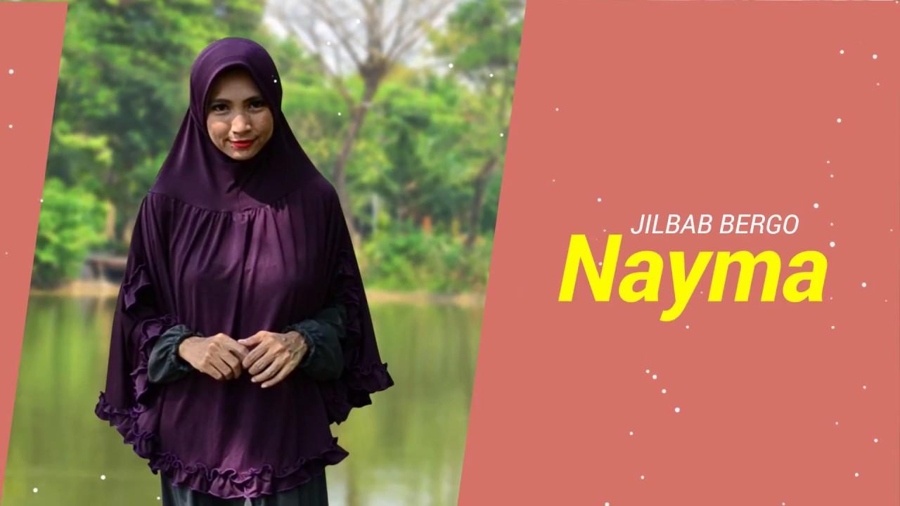 Jilbab Bergo Nayma Kerudung Bergo Jumbo Terbaru Wa 08977166114
