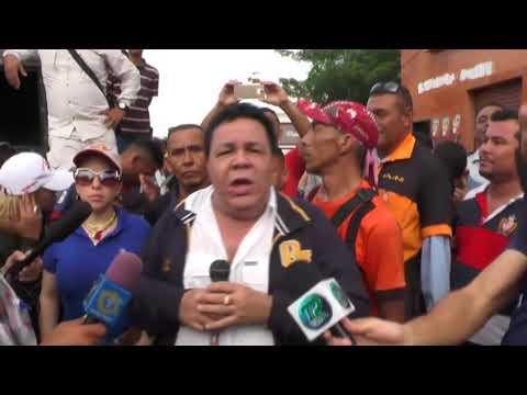 CARAVANA DE CANDIDATO JULIÁN TERÁN EN GUANARE