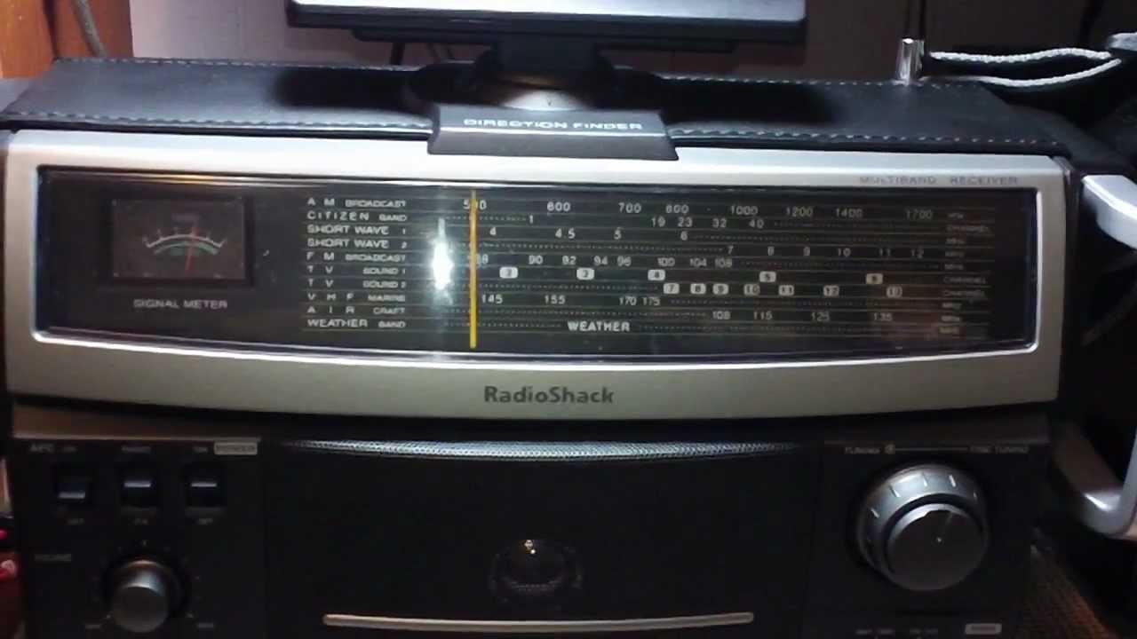 Radio Shack 12 795 Shortwave Receiver Am Broadcast Surfing